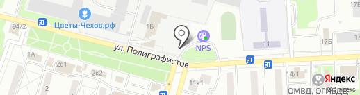БИ-БИ на карте Чехова
