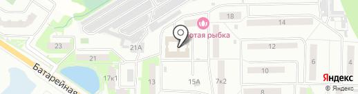 Московское областное БТИ на карте Лобни