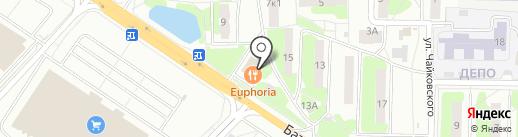Платежный терминал, МОСКОВСКИЙ КРЕДИТНЫЙ БАНК на карте Лобни