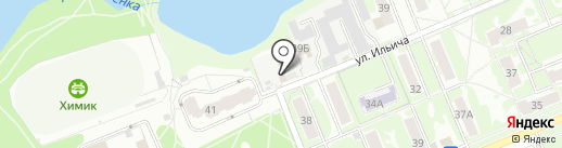 Автосервис на ул. Ильича на карте Чехова