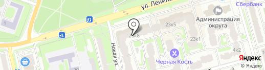 Салон копировальных и фотоуслуг на ул. Ленина на карте Лобни