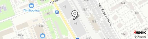 Пауэрспортс на карте Москвы