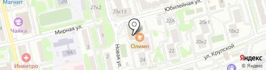 Альт Телеком на карте Лобни