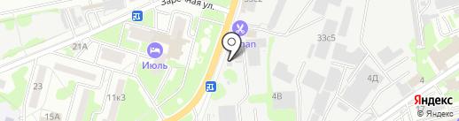 Лобненская цементная компания на карте Лобни