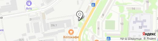 ЖелДорЭкспедиция на карте Лобни