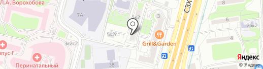 Волок на карте Москвы