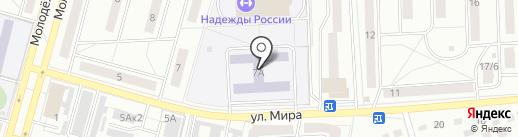 Гимназия №7 на карте Чехова