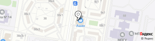 Лидер на карте Москвы