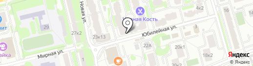 Дакота на карте Лобни