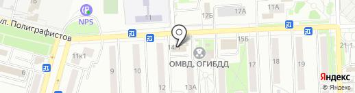Кадастровый инженер на карте Чехова