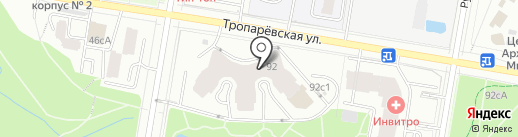 Империя красоты на карте Москвы