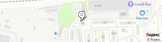 МОЭС на карте Чехова