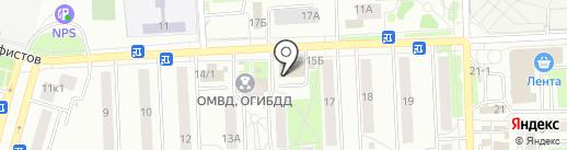 Диана на карте Чехова