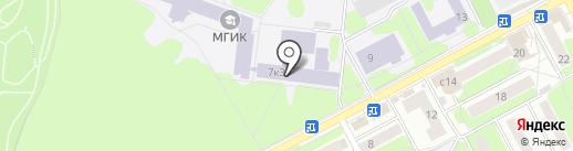 Московский государственный институт культуры на карте Химок