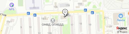 Персона Гратта на карте Чехова