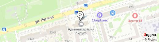 Контрольно-счетная палата на карте Лобни