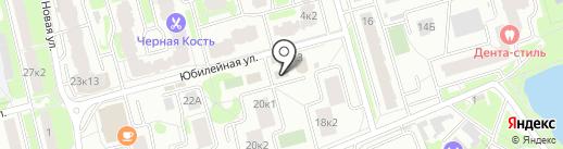 Магазин трикотажных изделий на ул. Крупской на карте Лобни