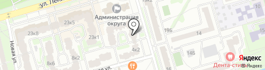 Московия на карте Лобни