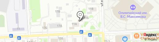 Дент Асс на карте Чехова