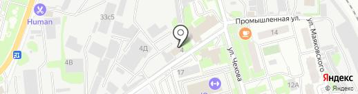 Парадиз на карте Лобни