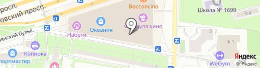 Океания на карте Москвы