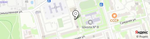 Магазин мебели и люстр на карте Лобни