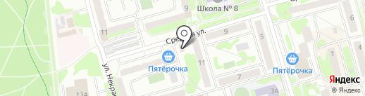 Мастерская по ремонту компьютеров на ул. Некрасова на карте Лобни