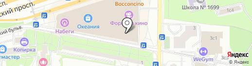 H & M на карте Москвы