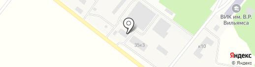 Автосервис на Полевой (Луговая) на карте Лобни