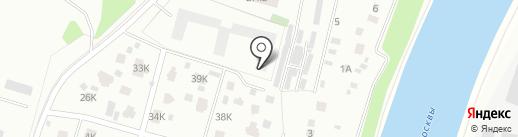 Дом у реки на карте Химок
