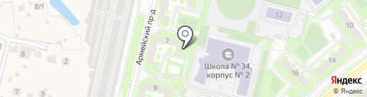 Ингосстрах, СПАО на карте Подольска