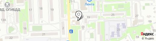 Груша на карте Чехова