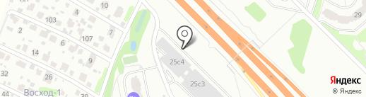 Химки на карте Химок