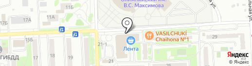 Фамилия на карте Чехова