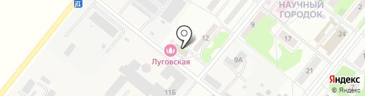 Сауна на ул. Научный городок на карте Лобни