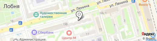 МТС на карте Лобни