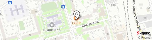 Чехов на карте Лобни