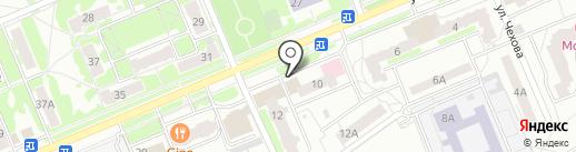 Долголет на карте Чехова