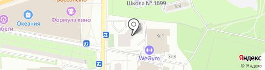 Pusha на карте Москвы