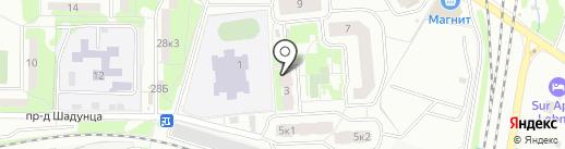 Ася на карте Лобни