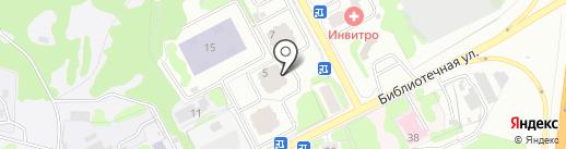 Биномньютона на карте Химок