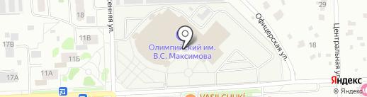 Динамо на карте Чехова