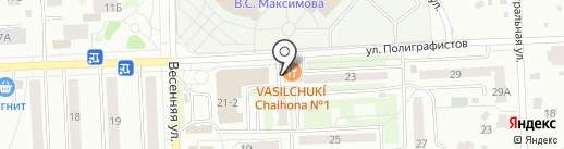 Чайхона №1 на карте Чехова
