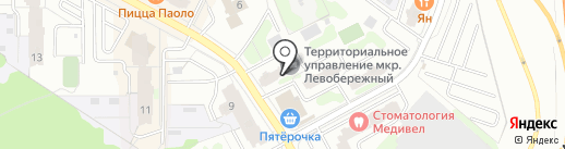 ДЕЗ ЖКУ, МП на карте Химок