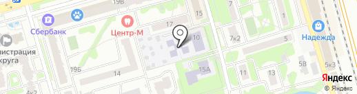Детский сад №7 на карте Лобни