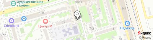 Управление по делам ГО, ЧС и мобилизационной работе на карте Лобни
