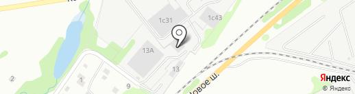 Хабазит, Лтд на карте Долгопрудного