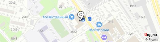 АвтоМартин на карте Москвы