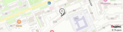 Салон-парикмахерская на карте Чехова