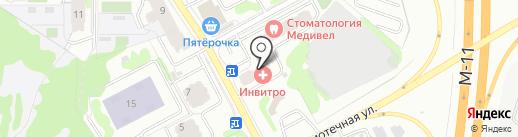 КИТ на карте Химок
